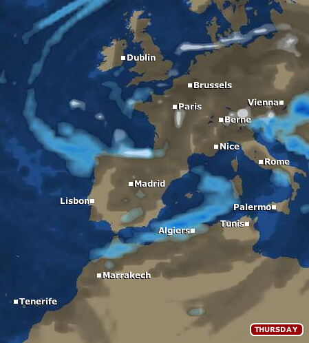 About Leisure Weather  |Weather Forecast Map Europe
