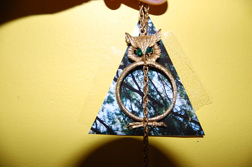 THE DEATHLY HALLOWS IN MY ROOM.