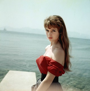 Brigitte Bardot in Cannes