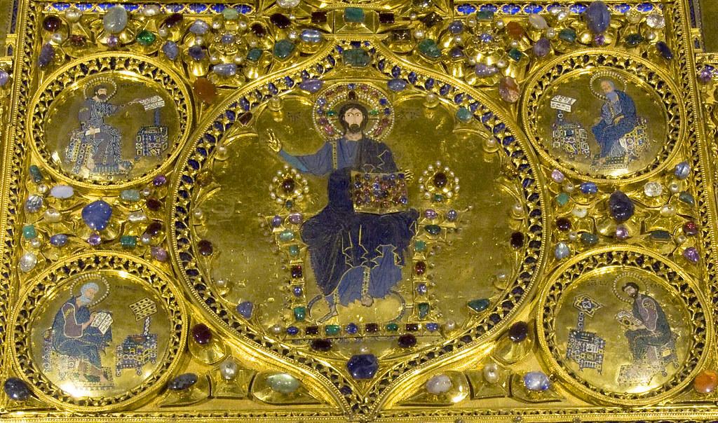 Venice pala d 39 oro centro christus pantocrator four for Pala de oro