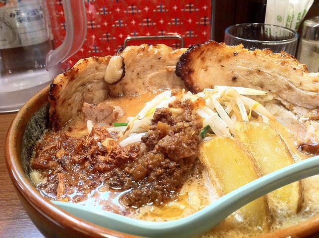 麺場 田所商店 伏見桃山店の味噌ラーメン