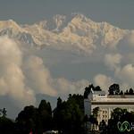 View of Kanchenjunga Mountain - Darjeeling, India