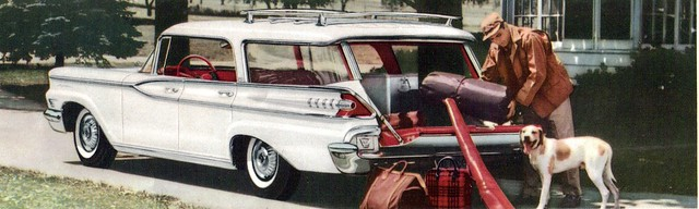 1959 Mercury 4 Door Hardtop Station Wagon