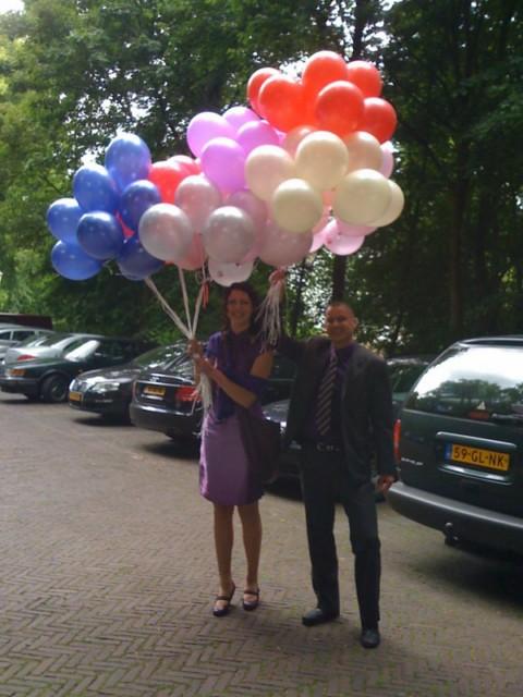 Heliumballonnen  24/7 bezorgd door heel NL