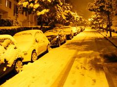 Voitures sous la neige, Suresnes