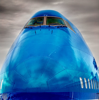 Going Home with a KLM 747