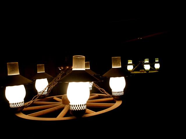 Wagon Wheel Light Fixtures Flickr Photo Sharing