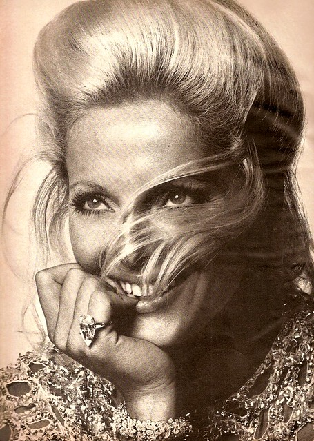 Italian actress Virna Lisi wearing Tiffany's jewelry and photographed by