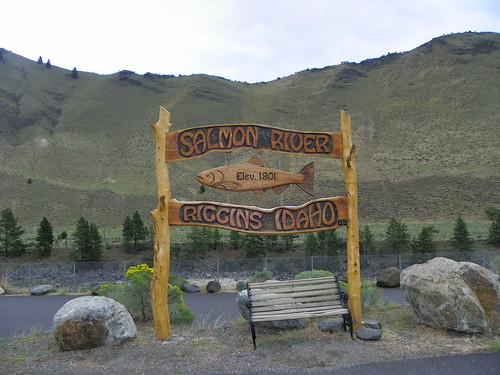Salmon River - Elev. 1801 - Riggins Idaho