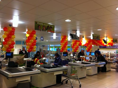 Ballonslinger Plus Supermarkt Rozenburg