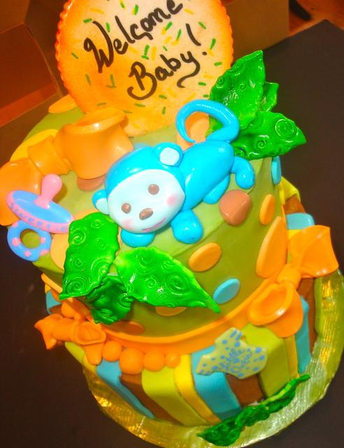 jungle theme baby shower cake flickr photo sharing