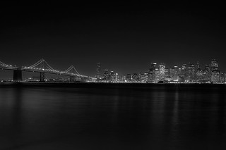 Downtown San Francisco and Oakland Bridge from Treasure Island | by Alex H. Grande