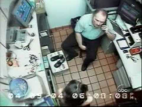 Restaurant employees strip search