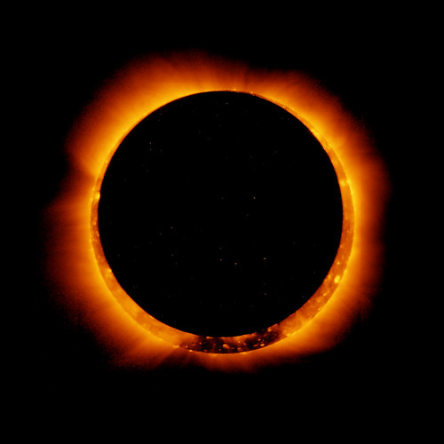 Hinode Observes 2011 Annular Solar Eclipse by NASA Goddard Photo and Video