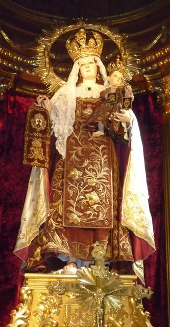 Nuestra Señora del Carmen de Puebla. | Imágen que preside el ...