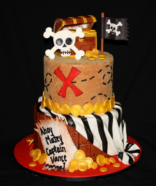 Pirate cake - photo#18