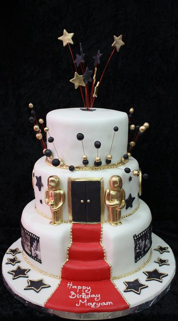 Hollywood Theme Cake Flickr Photo Sharing