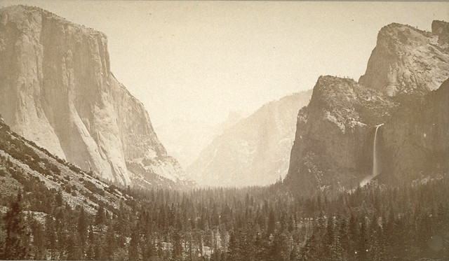 Yosemite Valley, by Carleton E. Watkins