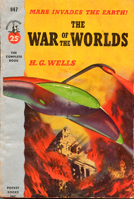WAR OF THE WORLDS - Pocket Book Movie Tie-In Paperback, 1953