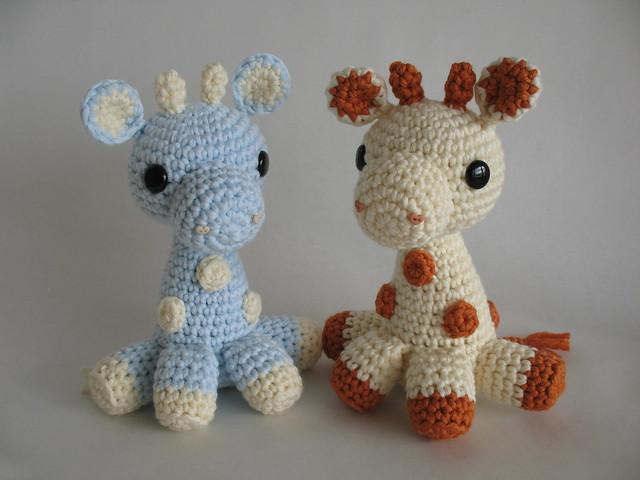 Giraffe Amigurumi Schema : Baby Amigurumi Giraffes Flickr - Photo Sharing!