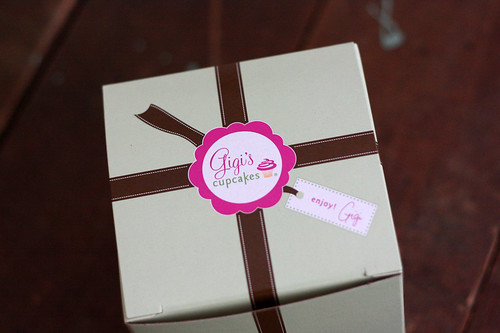gigi's cupcakes packaging