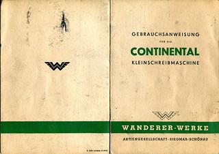 Continental_Kleinschreibmaschine_Gebrauchsanweisung_1