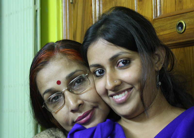 My mother and sister