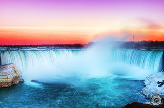 Sunset Niagara Falls Horse Shoe