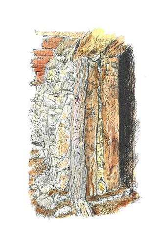 Exterior de la tenada núm.: 11, en Contreras (Burgos)