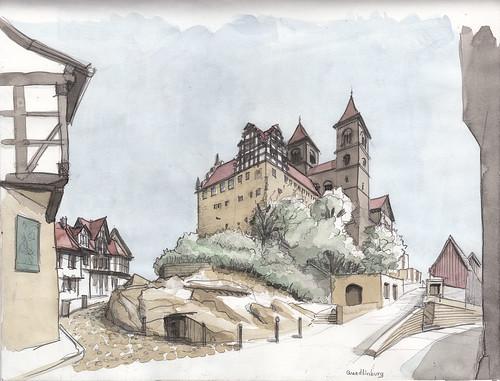 Quedlinburg Castle & St. Servatius