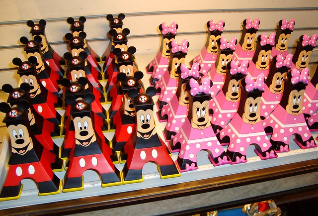 disney souvenirs mickey mouse minnie mouse eiffel towers feel free to ...