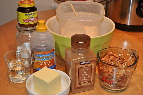 cinnamon buns/ingredients
