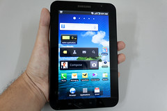 Samsung Galaxy Tab In Hand