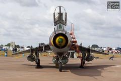 308 - 17532366308 - Polish Air Force - Sukhoi SU-22UM-3K - 100717 - Fairford - Steven Gray - IMG_8321