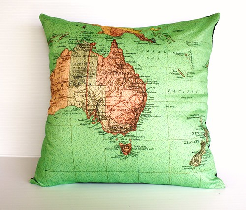 australasia cushion- orgainc cotton