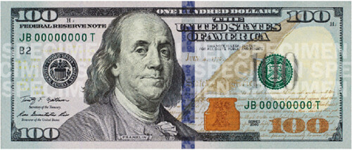 New $100 Bill Printing Costs More than 120 Million Dollars