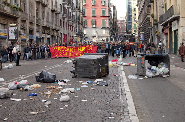 disorder in Naples