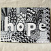 ACEO Hope Zentangle (© Z.Ford)