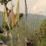 Girls on their Way to School - Lake Khecheopalri, Sikkim