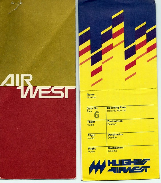 Air West & Hughes Airwest