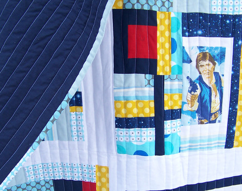 star wars quilt back