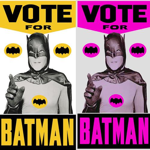 Vote For Me batman old