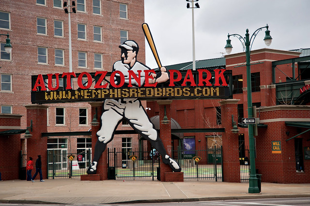 Memphis, TN - Autozone Park by cwwycoff1, on Flickr