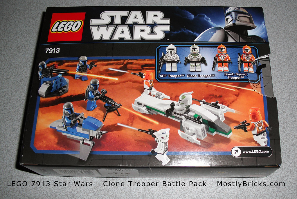 Star Wars Clone Trooper Lego Lego 7913 Star Wars Clone