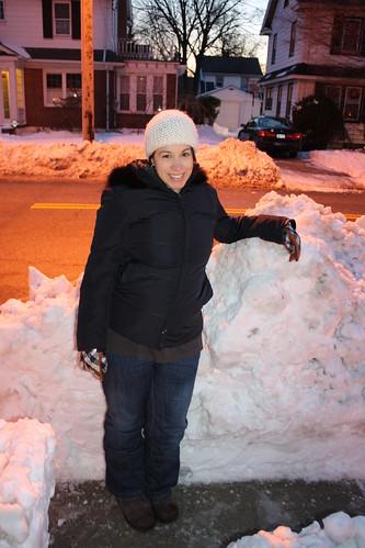 December 29, 2010 Snow Piles