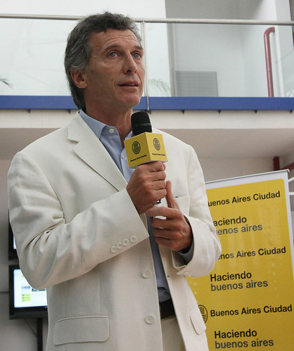 Mauricio Macri. (Photo courtesy of Gobierno de la Ciudad de Buenos Aires)