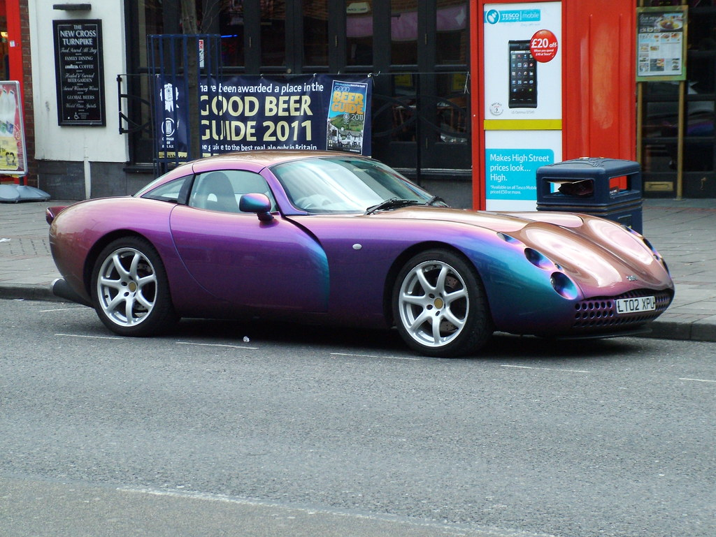A Purple TVR Tuscan Speed 6. Targa Roof, English Built. High Days And  Holidays, Roof Off, Listen To The Noise... | 10 Car Dream Garage |  Pinterest | Cars, ...