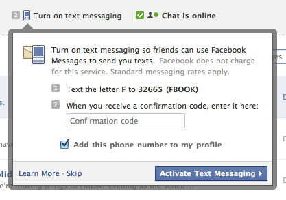 Text the letter F to 32665 (FBOOK)