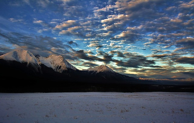 Sunrise on Hudson  Bay Mountain ( Explore #78 )