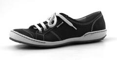 cross training shoe(0.0), walking shoe(0.0), outdoor shoe(0.0), brown(0.0), leather(0.0), athletic shoe(0.0), tennis shoe(1.0), sneakers(1.0), footwear(1.0), shoe(1.0), black(1.0),